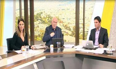 Δεν φαντάζεστε τι έδειξε ο Παπαδάκης στον αέρα του Καλημέρα Ελλάδα: «Πάρτε τα αρ@@@@@ μου τώρα»!