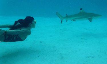 Μαρίνα Βερνίκου: Πρωτοχρονιά κάτω από το νερό!