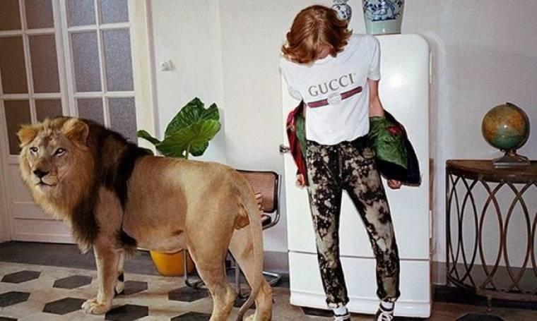 Λιοντάρια και τίγρεις στη νέα καμπάνια της Gucci