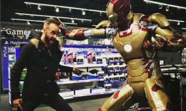 Μουζουράκης εναντίον… Iron Man