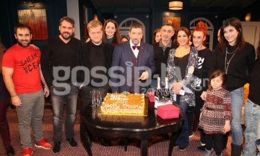 Ο Σπύρος Παπαδόπουλος έκοψε την Πρωτοχρονιάτικη πίτα