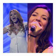Έξαλλη πασίγνωστη τραγουδίστρια της Eurovision. Βρίζει, απειλεί και διαγράφει τους fans της