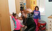 Η Έλενα Παπαρίζου μοίρασε χαμόγελα στα παιδιά!
