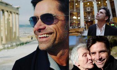 John Stamos: Νέες φωτογραφίες από το ταξίδι του στην Ελλάδα
