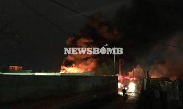 Μαίνεται η φωτιά στον Ταύρο - Συνεχίζονται οι εκρήξεις (vid + pics)