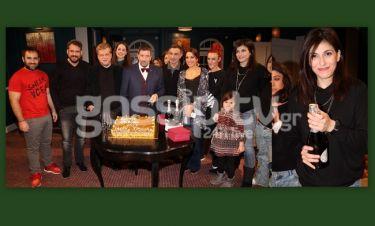 Σπύρος Παπαδόπουλος: Έκοψε την πίτα στο θέατρο