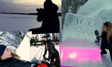 Αντωνία Καλλιμούκου-Νίκος Παραδείσης: Το ερωτικό ταξίδι στη Φινλανδία σε φωτογραφίες!