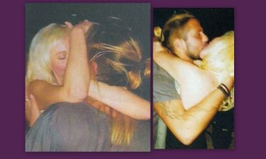 Τα «καυτά» φιλιά της Τζούλιας με τον πρώην της Lohan