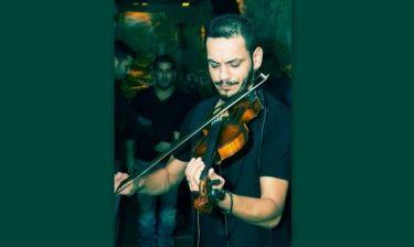 Ο γιος του Βασίλη Σαλέα, Σταμάτης κάνει καριέρα στο εξωτερικό ως σολίστ του βιολιού