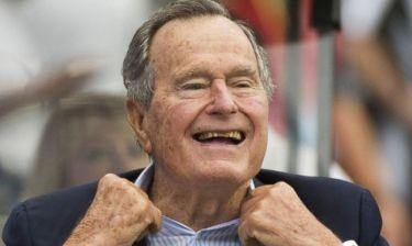 Στο νοσοκομείο ο Τζορτζ Μπους