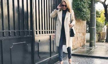 Τατιάνα Στεφανίδου: Έφυγε από το σπίτι της με  βροχή και ιδού η φωτό της στο instagram!