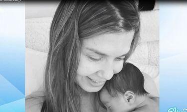 Οι ευχές της Ελένης Μενεγάκη στην Κατερίνα Μουτσάτσου που έγινε πρώτη φορά μαμά!