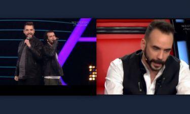 «The Voice»: Πάνος Μουζουράκης: «Δεν μπορώ να σας κοιτάξω στα μάτια»