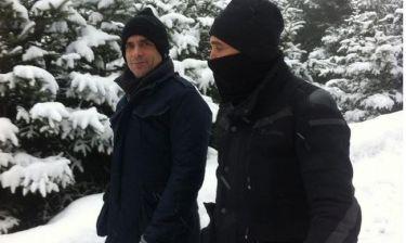 Ο Κωνσταντίνος Μαρκουλάκης στον Παρνασσό με τον… (φωτό)