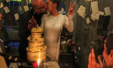 Πιερίδη-Κατριβέσης: Το τρυφερό φιλί στην γαμήλια δεξίωση και οι δηλώσεις του ζευγαριού
