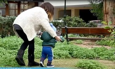 Βανέσσα Αδαμοπούλου: Τα πρώτα πλάνα με τον δεκαοκτώ μηνών γιο της