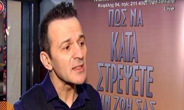 Γιώργος  Ηλιόπουλος: «Τα «Σφηνάκια» με γλίτωσαν από τον ψυχίατρο στην κυριολεξία»