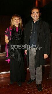 Παύλος Τσίμας: Σπάνια νυχτερινή έξοδο με την γυναίκα του