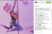 Ιωάννα Τριανταφυλλίδου: Κάνει pole dancing και τρελαίνει το instagram