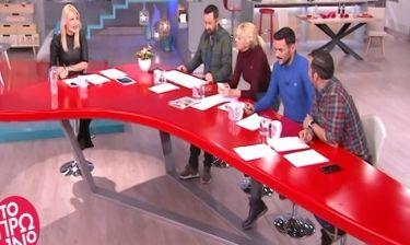 Το πρωινό: Το πλάνο με τους συνεργάτες της Φαίης Σκορδά να… τσακώνονται on air!