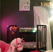 Πηνελόπη Αναστασοπούλου: Η φωτογραφία με το δωμάτιο της κόρης της, Λυδίας