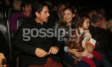 Καμπούρη – Ταρασιάδης: Με την κόρη τους στο «Mamma Mia»