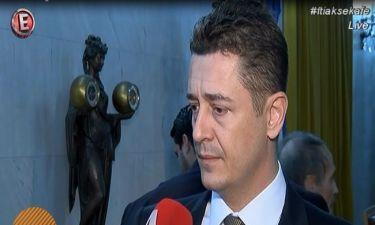 Η βράβευση του Σρόιτερ και η δήλωσή του για τον νέο του τηλεοπτικό «αντίπαλο»,Νίκο Χατζηνικολάου