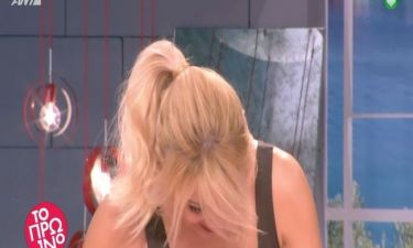 Κρύφτηκε από ντροπή η Φαίη Σκορδά στο Πρωινό – Τι της είπαν on air  οι συνεργάτες της