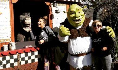 H Eλένη Χατζίδου στα Universal Studios