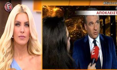 Έξαλλος ο Λιάγκας με την Καινούργιου on camera: «Όταν αναπαράγονται ηλίθια δημοσιεύματα...»