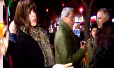 Μαρία Χούκλη: Η αντίδρασή της όταν την ρώτησαν για τον Χατζηνικολάου