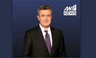 Η αποφώνηση του Νίκου Χατζηνικολάου από το πρώτο του δελτίο ειδήσεων στον ANT1