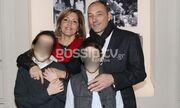 Μελίτα Κούρκουλου: Με τον σύζυγο και τα παιδιά της στη γιορτή για τη μνήμη του πατέρα της