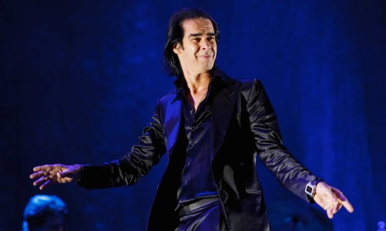 Στην  Ελλάδα ο Nick Cave