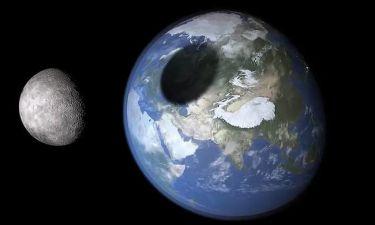 Έρχεται (πάλι) το τέλος του κόσμου; Το φεγγάρι θα συγκρουστεί με τη Γη!