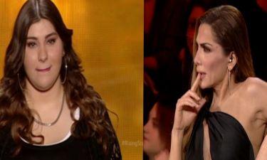Η ερμηνεία της απογοήτευσε τη Βανδή - Οι παρατηρήσεις της τραγουδίστριας την έκαναν να βουρκώσει