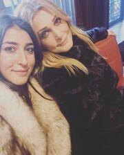 Η γλυκιά φωτογραφία της Νατάσας Θεοδωρίδου με την κόρη της στο instagram
