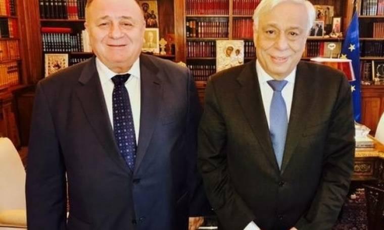Παντελής Μπούμπουρας: «Ο Πρόεδρος της Δημοκρατίας ενδιαφέρθηκε για τους Έλληνες της Ουκρανίας»
