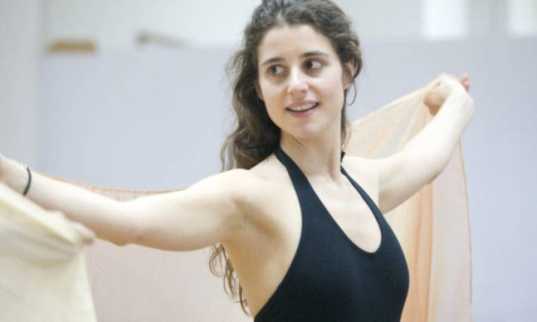 Belly dancing για εγκύους από την σύζυγο του Λάμπρου Φισφή