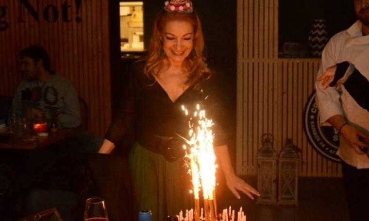 Πέμυ Ζούνη: Γιόρτασε τα γενέθλιά της με φίλους