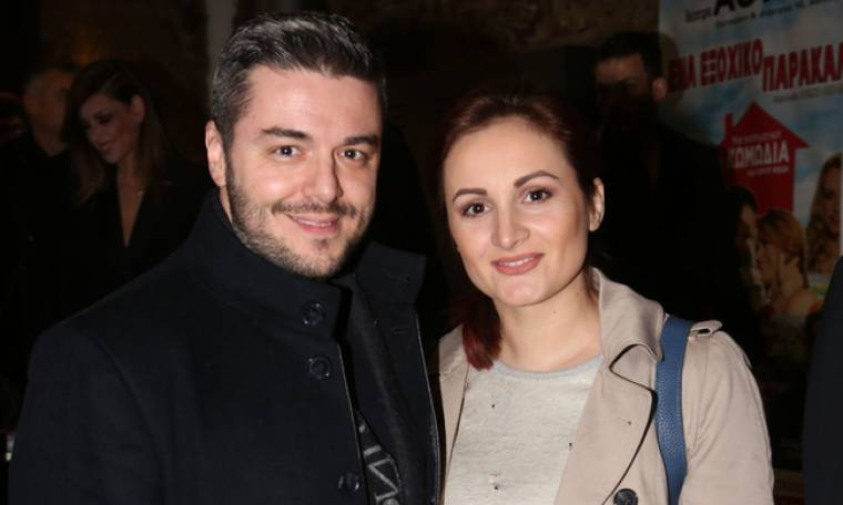 Πέτρος Πολυχρονίδης: Στο θέατρο Πειραιώς 131 με την σύντροφό του