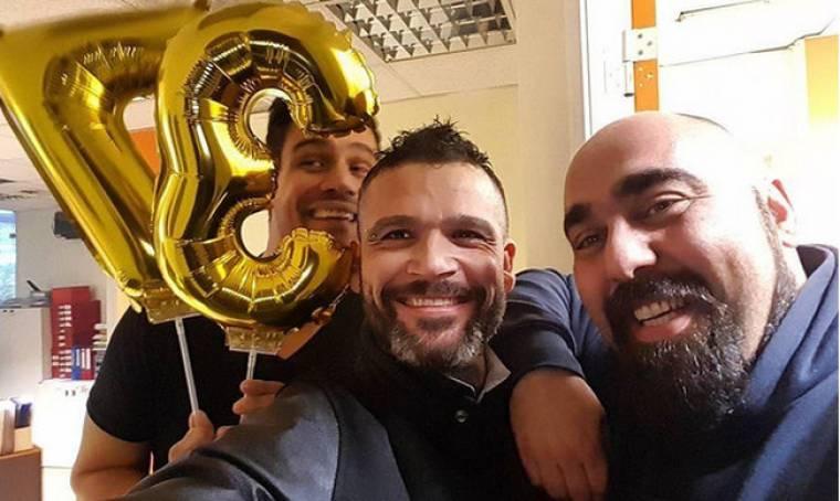 Ο Δημήτρης Ουγγαρέζος έγινε… 37 ετών!