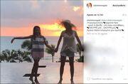 Ελένη Μενεγάκη: Δημοσίευσε πρώτη φορά την μεγάλη της κόρη στο Instagram