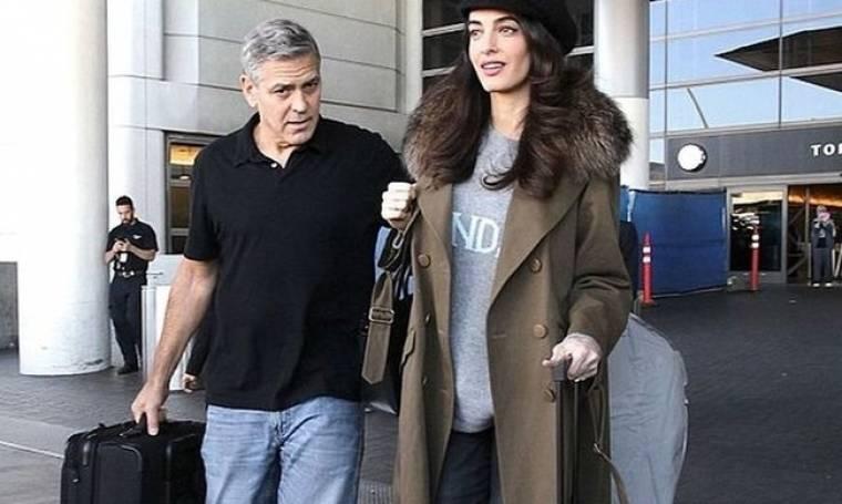 Η γέννα της Amal Clooney και οι πρώτες ώρες με τα μωρά τους