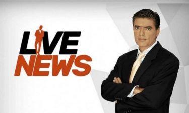 Το LIVE NEWS με τον Ευαγγελάτο αλλάζει ώρα από Δευτέρα