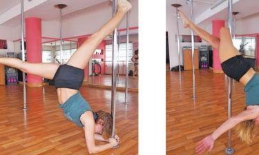 Λάτρης του pole dancing η Ελληνίδα παρουσιάστρια