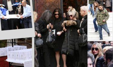 Το gossip-tv.gr στο μνημόσυνο του Παντελίδη: Η υποβασταζόμενη Αθηνά Παντελίδη και τα δάκρυα!