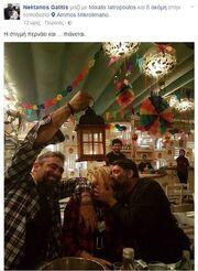 Ο πρώην της Ηλιάκη κρατάει το φανάρι σε γνωστό ζευγάρι της showbiz! (φωτό)