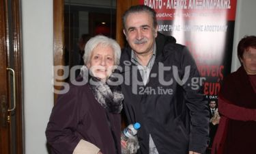 Ο Λάκης Λαζόπουλος στη παράσταση «Φιλιώ Χαϊδεμένου»