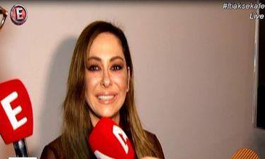 Μελίνα Ασλανίδου: «Πάγωσε» όταν ρωτήθηκε για τον σύντροφό της